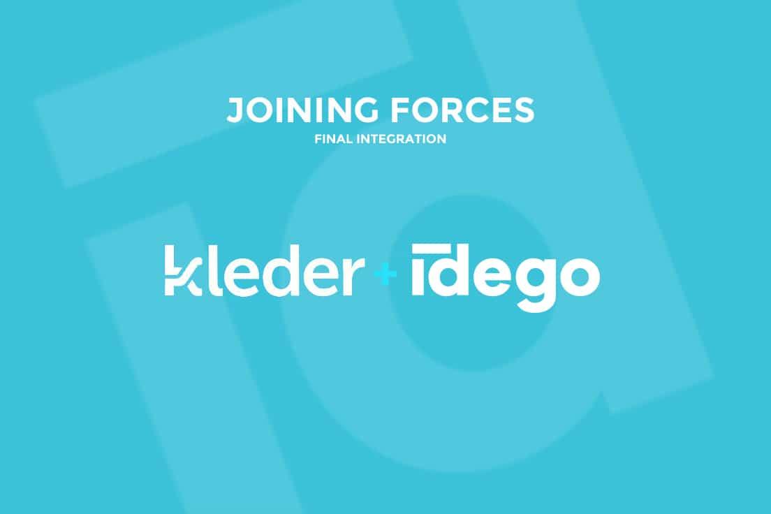 Idego teams up with Kleder!