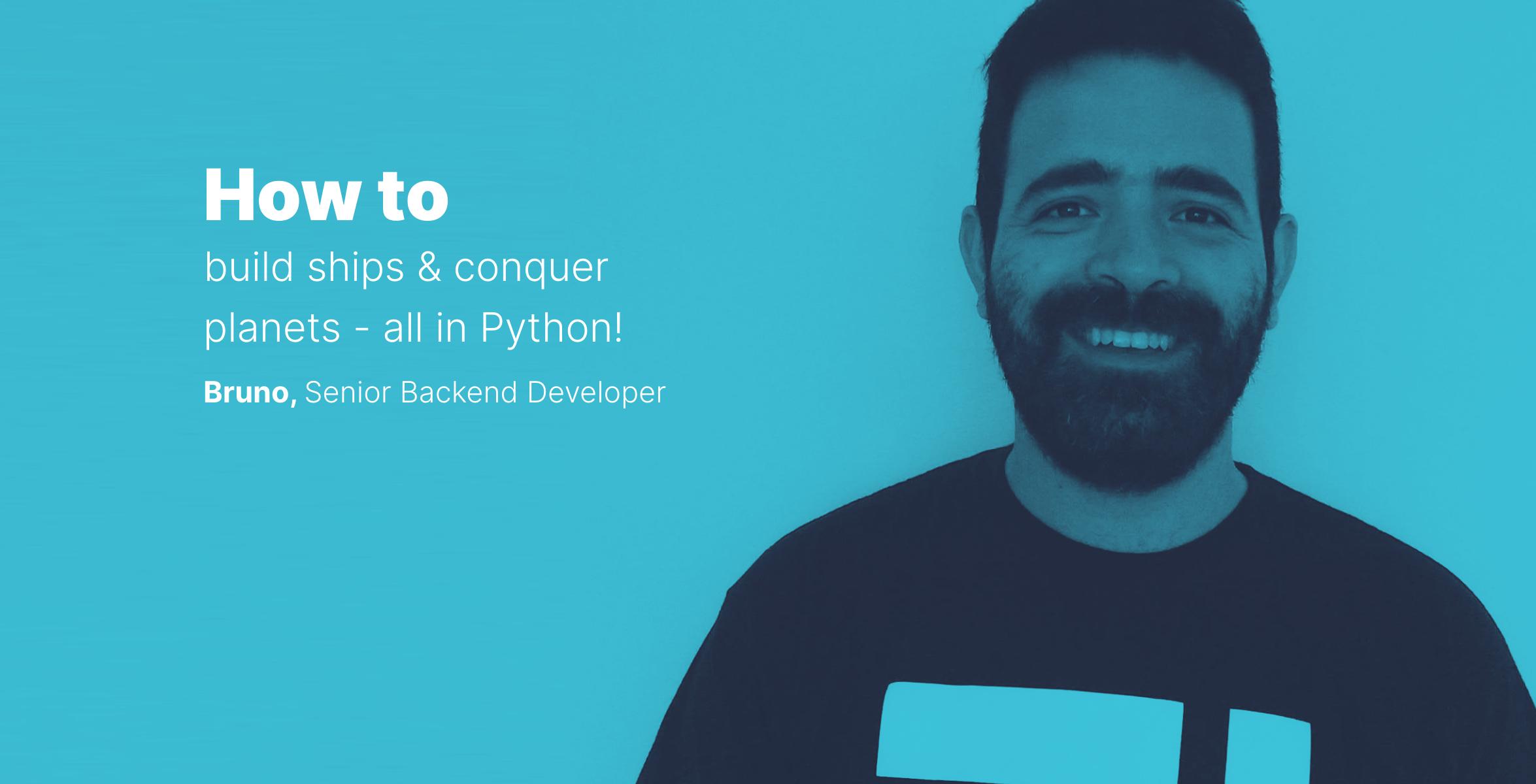 Idego Talks #1 Programming game in Python