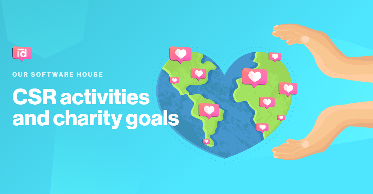CSR activities and charity goals