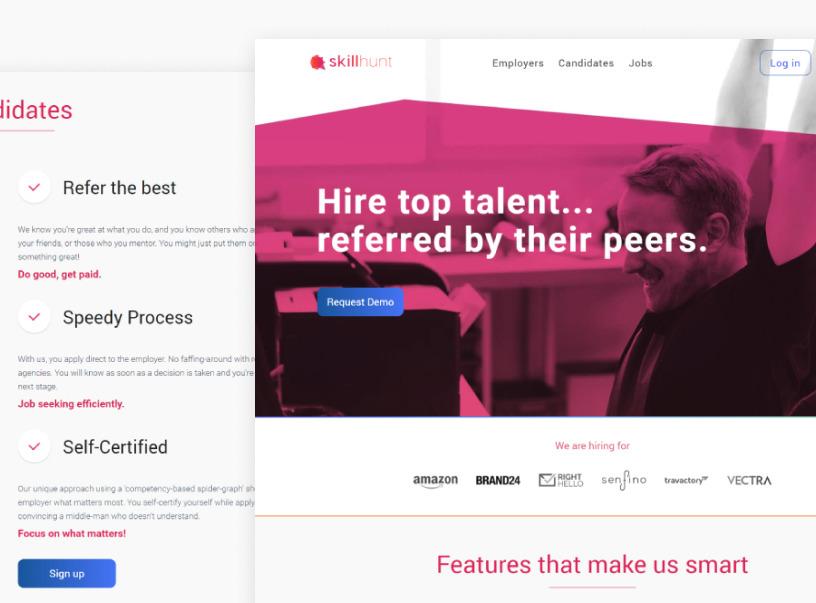 Skillhunt Hiring Application