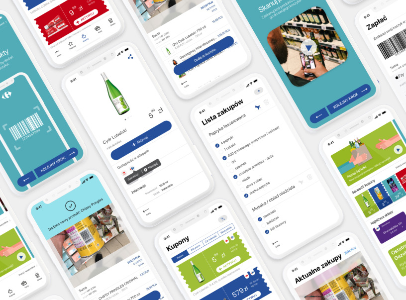 Carrefour Shopping Experience Enhancement