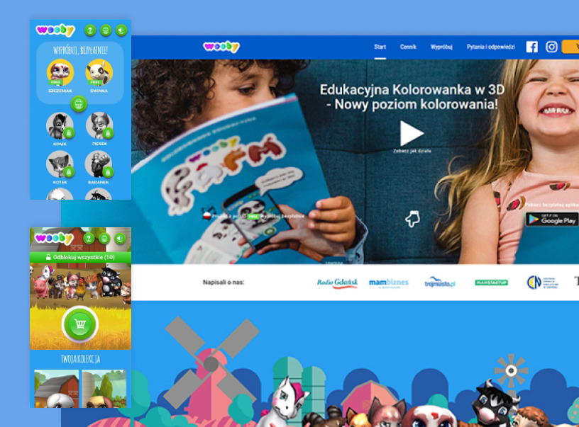 Wooby Kids Educational Coloring Book For Kids